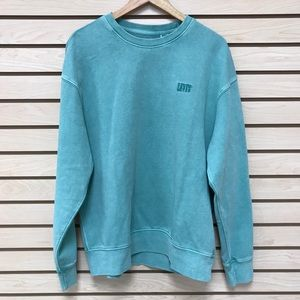 NWT Levis Garment Dyed Mint Green Sweatshirt